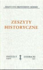 Zeszyty Historyczne zeszyt 137