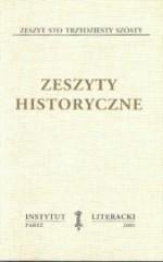 Zeszyty Historyczne zeszyt 136
