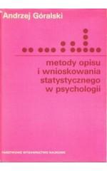 Metody opisu i wnioskowania statystycznego w psychologii