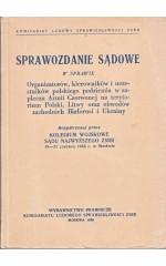 Sprawozdanie sądowe w sprawie [...] polskiego podziemia ...
