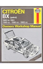 CITROEN  BX  (petrol)  Owners Workshop Manual